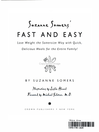Suzanne Somers  Fast And Easy