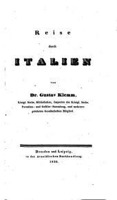 Italica. Reise durch Italien
