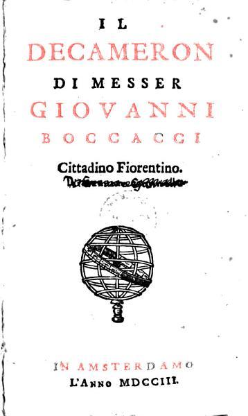 Download Il Decameron Book