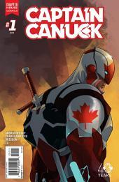 Captain Canuck #1: Aleph Pt. 1