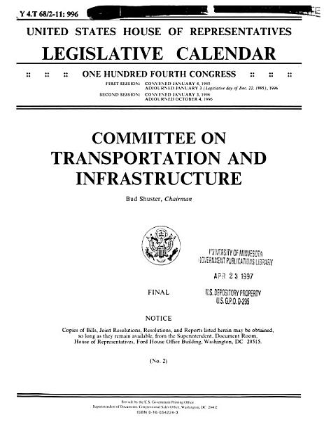 Download Legislative Calendar Book