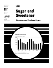Sugar and Sweetener Situation and Outlook Report Sept. 2001