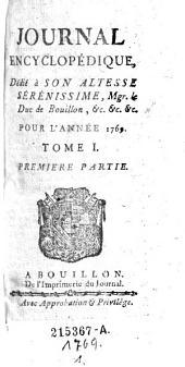 Journal Encyclopédique, Par Une Societe De Gens De Lettres [redige par Pierre Rousseau]