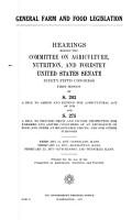 General Farm and Food Legislation PDF