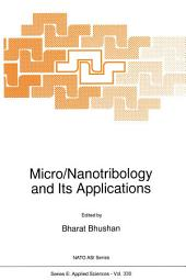 Micro/Nanotribology and Its Applications