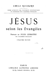 Jésus selon les Evangiles