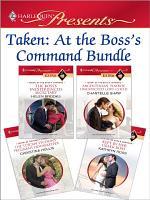 Taken  At the Boss s Command Bundle PDF