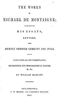 The Works of Michael de Montaigne PDF
