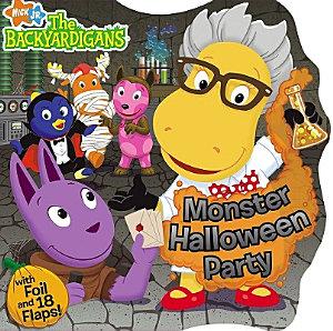 Monster Halloween Party Book