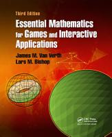 Essential Mathematics for Games and Interactive Applications PDF