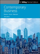 Contemporary Business  18th Edition PDF