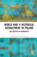 World War II Historical Reenactment in Poland PDF