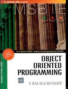 Object Oriented Program Msbte PDF