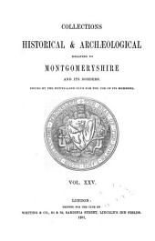 The Montgomeryshire Collections: Volume 25