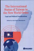 The International Status of Taiwan in the New World Order PDF