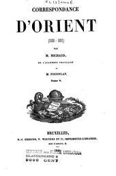 Correspondance d'Orient (1830-1831)