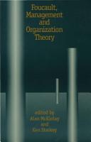 Foucault  Management and Organization Theory PDF