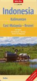 Indonesia: Kalimantan - East Malaysia - Brunei 1 : 1 500 000