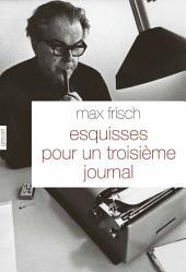 Esquisses pour un troisième journal: Traduit de l'allemand (Suisse) par Olivier Mannoni