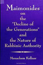 Maimonides on the