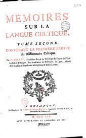 Mémoires sur la langue celtique, par M. Bullet