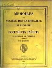 Recherches historiques et critiques sur les anciens comtes de Beaumont-sur-Oise du XIe au XIIIe siècle: avec une carte du comté