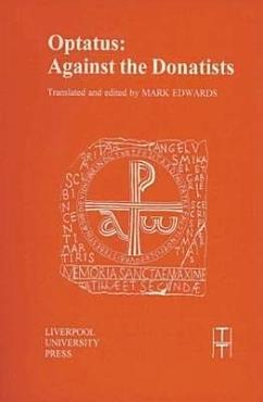 Optatus  Against the Donatists PDF