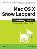 Mac OS X Snow Leopard  The Missing Manual PDF