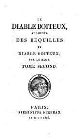 Le diable boiteux: augmenté des béquilles du diable boiteaux, Volume2