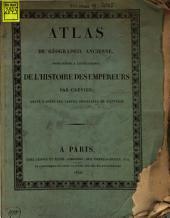 Histoire des Empereurs romains depuis Auguste jusqu'à Constantin: Atlas, Volume5