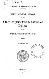 Annual Report of the Section of Locomotive Inspection