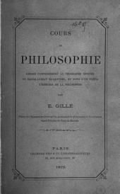 Cours de philosophie rédigé conformément au programme officiel du baccalauréat ès-lettres: et suivi d'un précis d'histoire de la philosophie