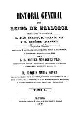 Historia general del Reino de Mallorca: Mit Tafeln in Steindruck, Volumen 1