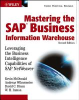Mastering the SAP Business Information Warehouse PDF