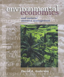 Environmental Economics and Natural Resource Management PDF
