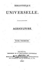 Bibliothèque universelle des sciences, belles-lettres et arts: Volume13