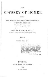 The Odyssey of Homer: Books VII to XII