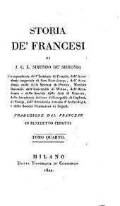 Storia de' Francesi: Volume 4