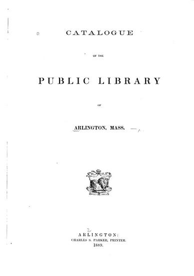 Catalogue of the Library PDF