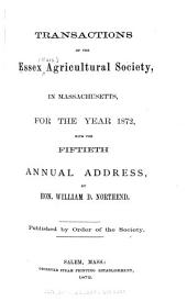 Transactions of the Essex Agricultural Society from ...