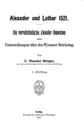 Quellen und Forshungen zur Geschichte der Reformation