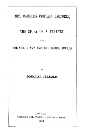 The Writings of Douglas Jerrold  Collected Edition