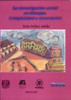 La investigaci  n social en Chiapas PDF