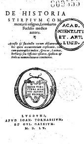 De Historia stirpium commentarii insignes...