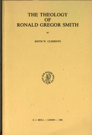 The Theology of Ronald Gregor Smith PDF