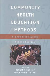 Community Health Education Methods Book