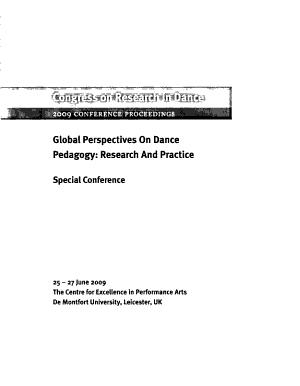 Global Perspectives on Dance Pedagogy