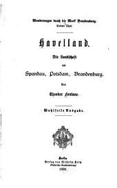Havelland : die Landschaft um Spandau, Potsdam, Brandenburg
