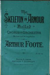 The Skeleton in Armour: Ballad for Chorus and Orchestra, Op. 28