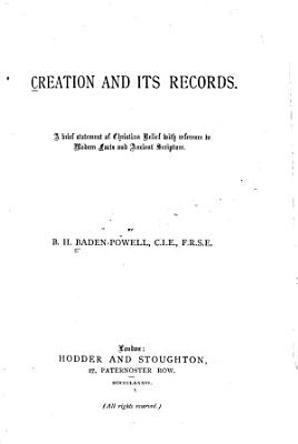 Creation and Its Records PDF